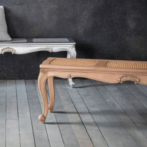 Chic Bench Weathered Finish